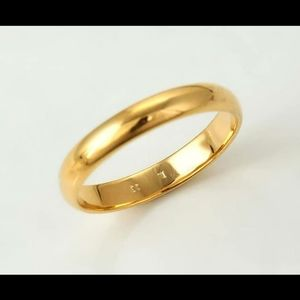 Cute gold wedding/engagement ring